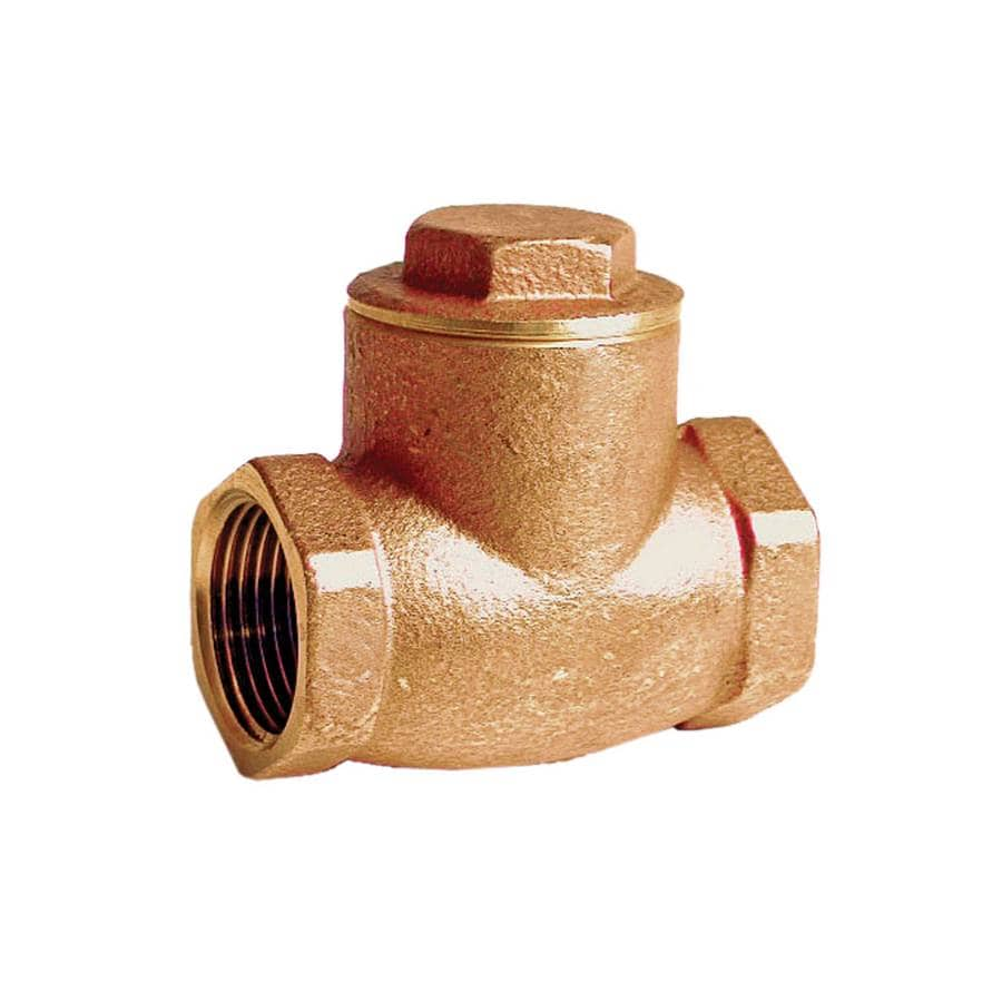 AMERICAN VALVE 1-in Brass Female In-Line Check Valve
