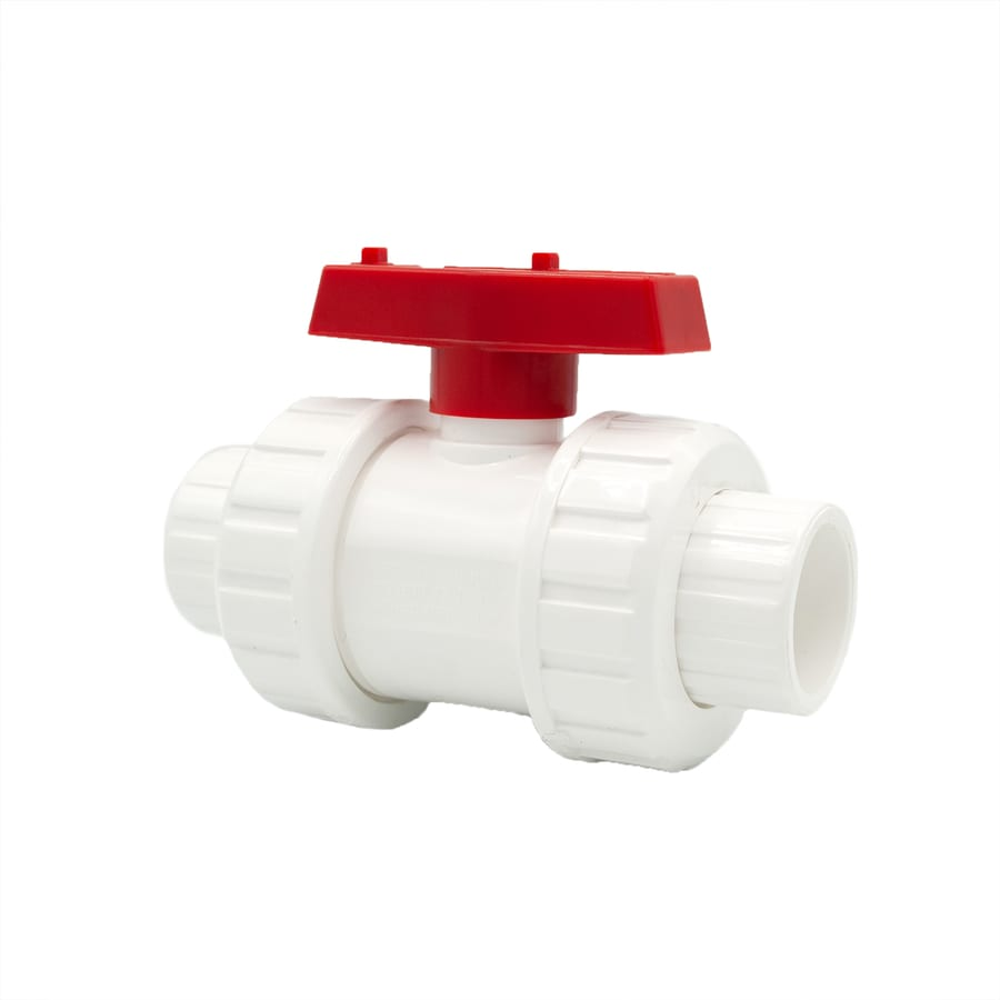 AMERICAN VALVE Pvc Sch 40 1-in Socket Ball Valve