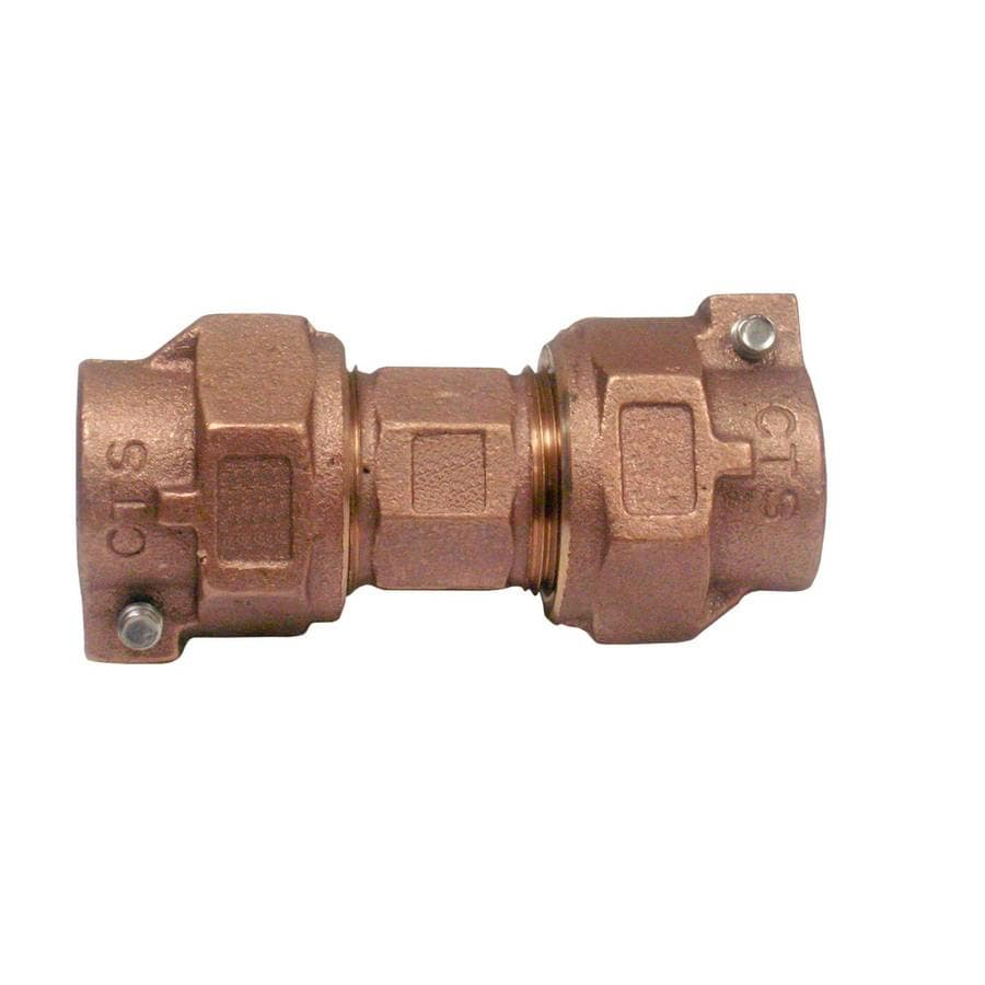 AMERICAN VALVE 1-in x 1-in Compression Compression Coupling Coupling Fitting