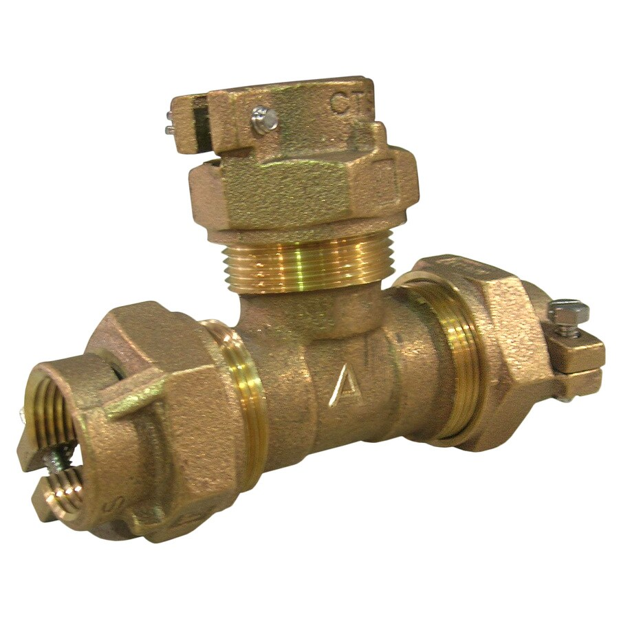AMERICAN VALVE 3/4-in Coupling Brass Pipe Fitting