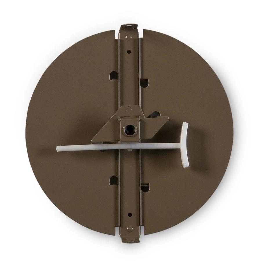 Accord Ventilation 343 6-in Dia Galvanized Steel Butterfly Damper