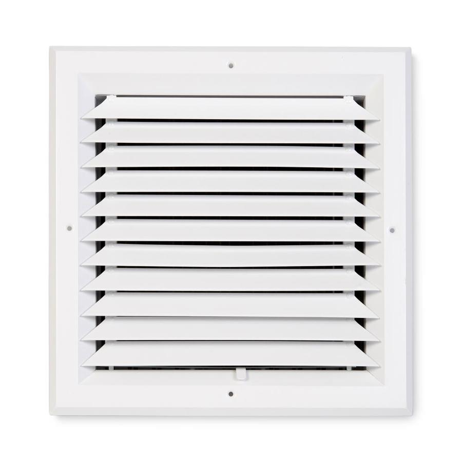 Accord Ventilation 481 White Aluminum Ceiling Diffuser (Rough Opening: 14-in x 14-in; Actual: 17-in x 17-in)