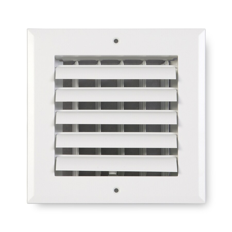 Accord Ventilation 281 Painted Aluminum Sidewall/Ceiling Register (Rough Opening: 10-in x 10-in; Actual: 11.75-in x 11.75-in)