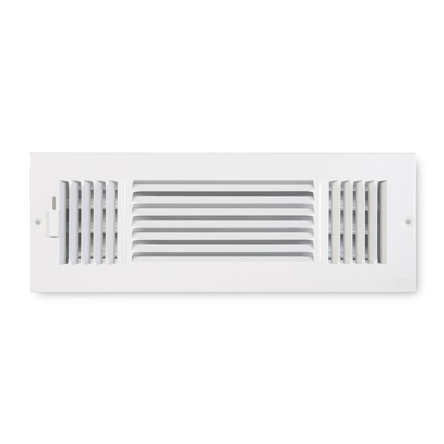 Accord Ventilation 203 Series Painted Steel Sidewall/Ceiling Register (Rough Opening: 4-in x 14-in; Actual: 15.75-in x 5.75-in)