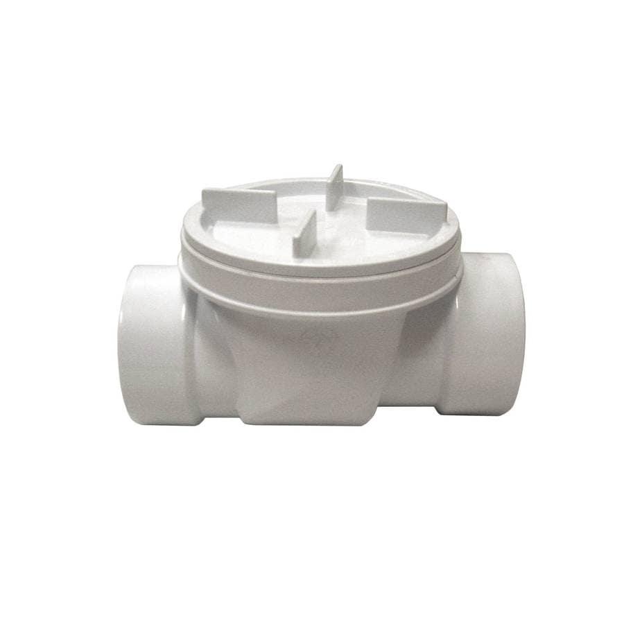 AMERICAN VALVE 4-in PVC Sch 40 Socket In-Line Backflow Preventer Valve