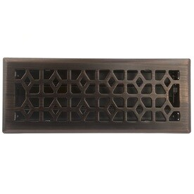 Accord Select Marquis Oil Rubbed Bronze Steel Floor Register Duct Opening 4