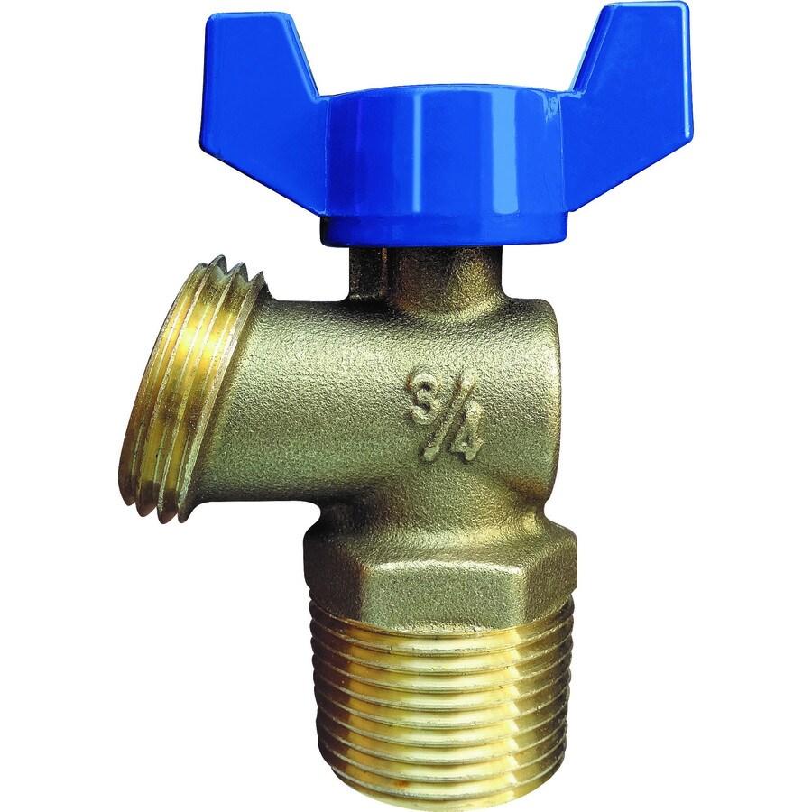 AMERICAN VALVE 2.88-in L 3/4-in Mnpt Brass Boiler Drain Valve