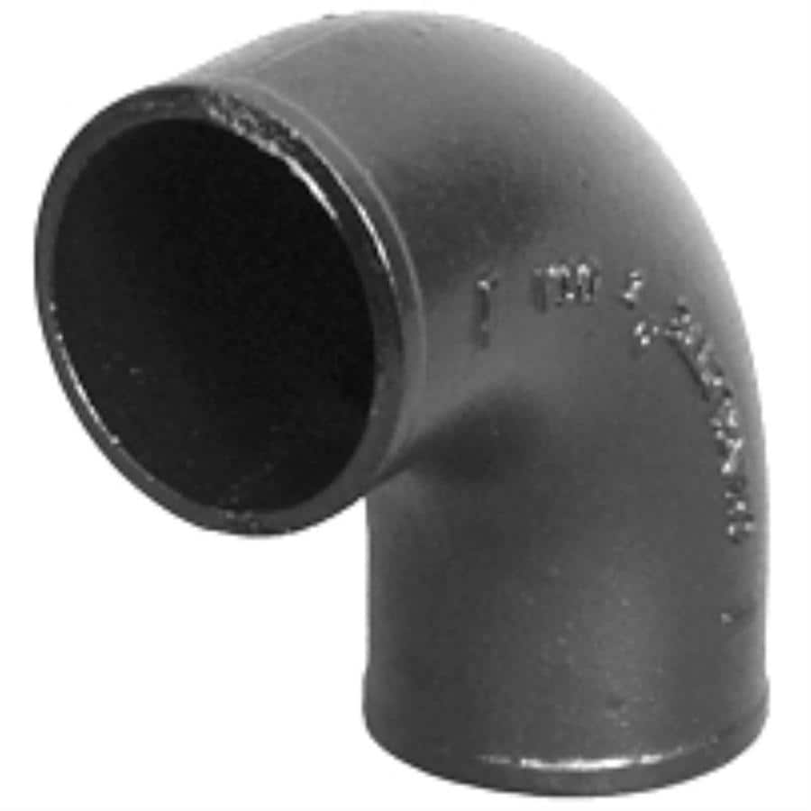 Charlotte Pipe 3-in dia Quarter Bend Cast Iron Fitting