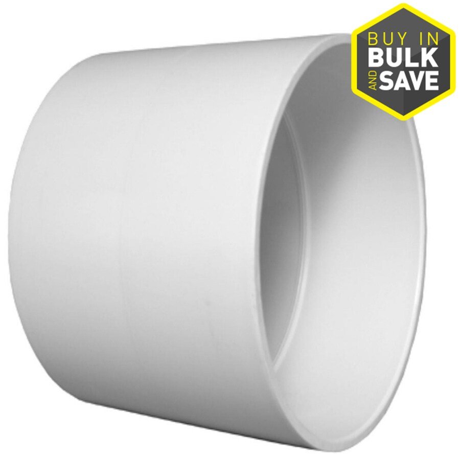 Charlotte Pipe 1-1/2-in dia PVC Coupling Fitting