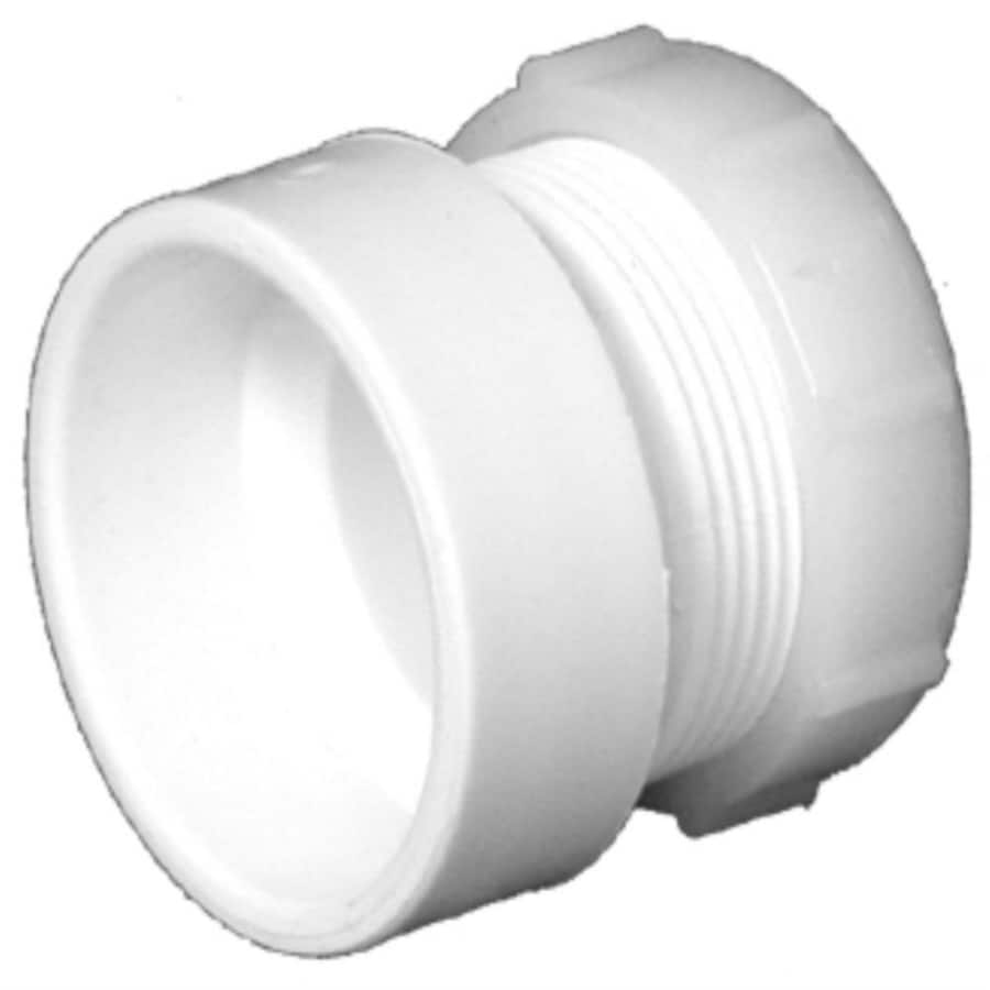 Charlotte Pipe 1-1/2-in Dia PVC Trap Adapter Fitting