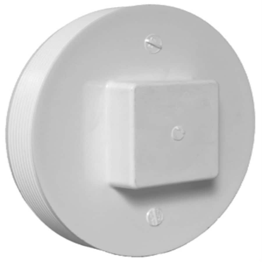 Shop Charlotte Pipe 6 In Dia Pvc Cleanout Plug Fitting At