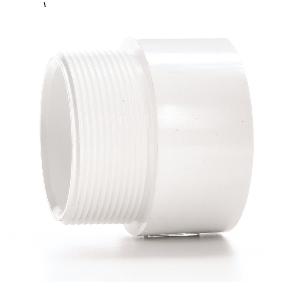 Charlotte Pipe 4-in dia PVC Male Fitting