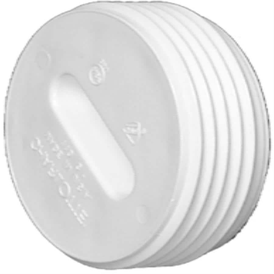 Charlotte Pipe 2-in dia PVC Cleanout Plug Fitting