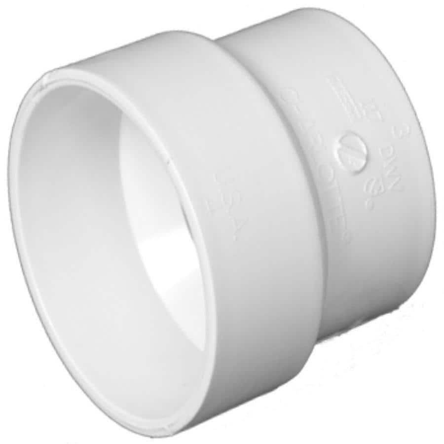 Charlotte Pipe 4-in x 3-in dia PVC Adapter Fitting