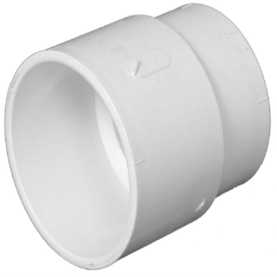 Charlotte Pipe 4-in x 4-in dia PVC Cast-Iron Adapter Fitting