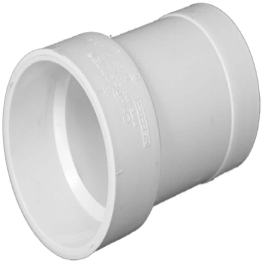 Charlotte Pipe 4X4 dia PVC Cast-Iron Adapter Fitting