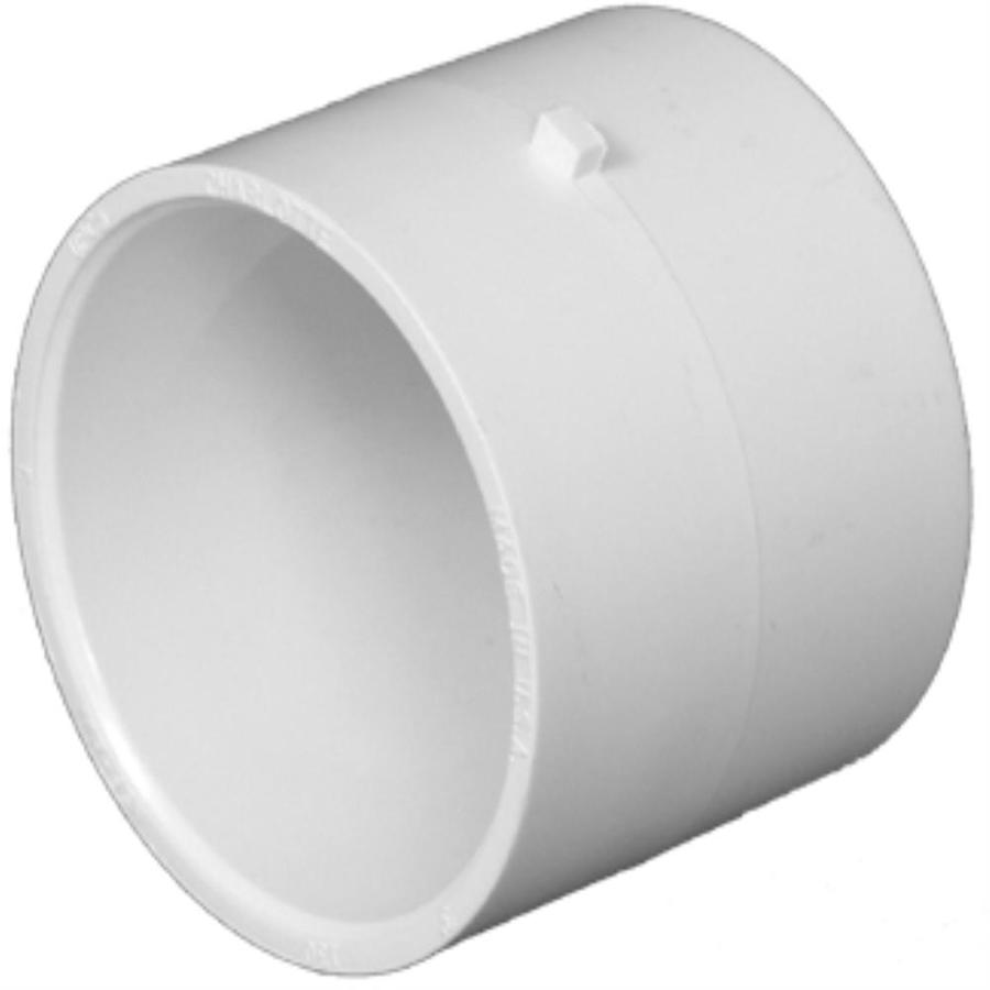 Charlotte Pipe 4-in dia PVC Repair Coupling Fitting