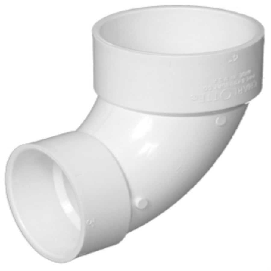 Shop charlotte pipe in dia pvc closet elbow fitting at