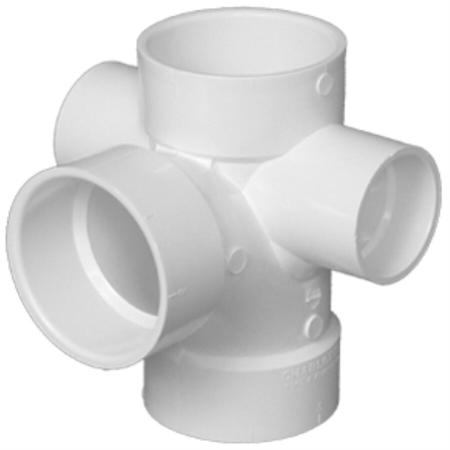Charlotte Pipe PVC Sanitary Tee Fitting