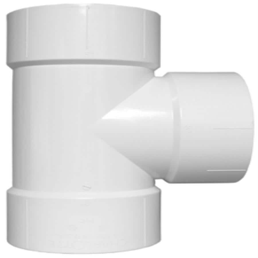 Charlotte Pipe 1-1/2-in dia PVC Vent Tee Fitting