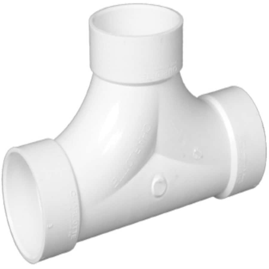 Charlotte Pipe 4-in Dia PVC Cleanout Adapter Fitting