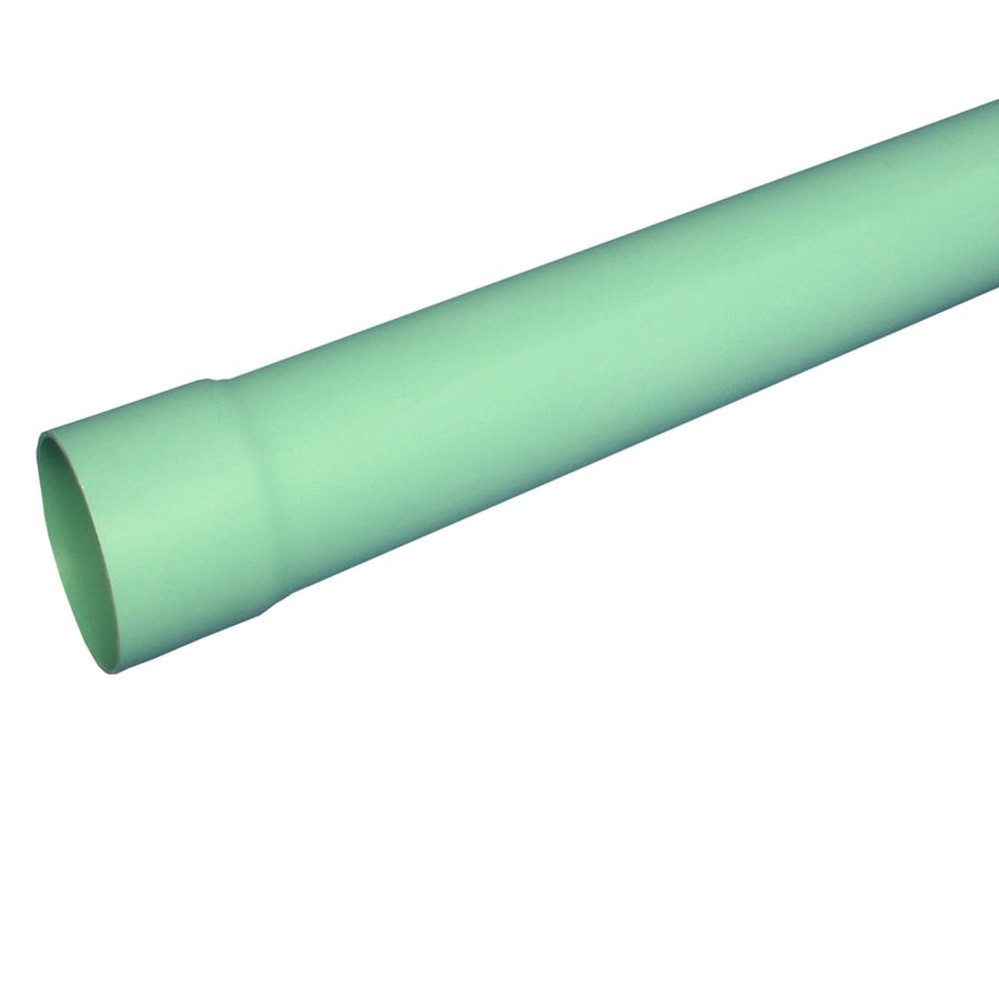 Charlotte Pipe 4-in x 20-ft Solid PVC Sewer Drain Pipe