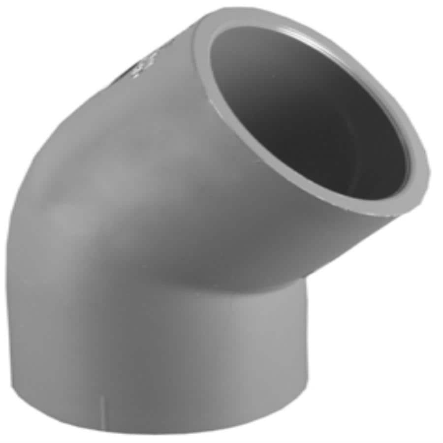 Charlotte Pipe 1/2-in Dia 45-Degree PVC Sch 80 Elbow