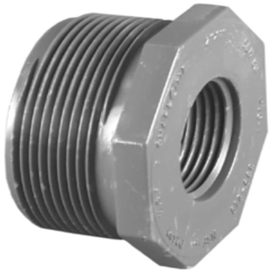 Charlotte Pipe 1-in dia PVC Sch 80 Bushing