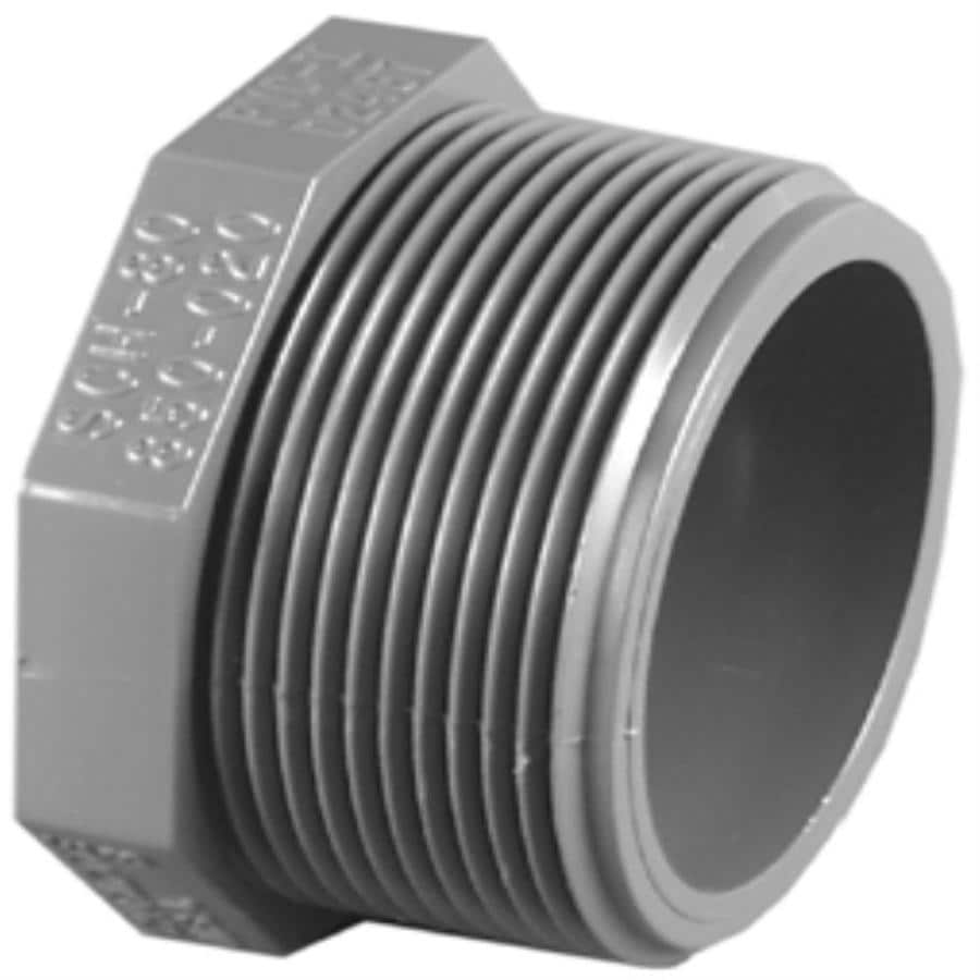Shop charlotte pipe in dia pvc sch plug at lowes