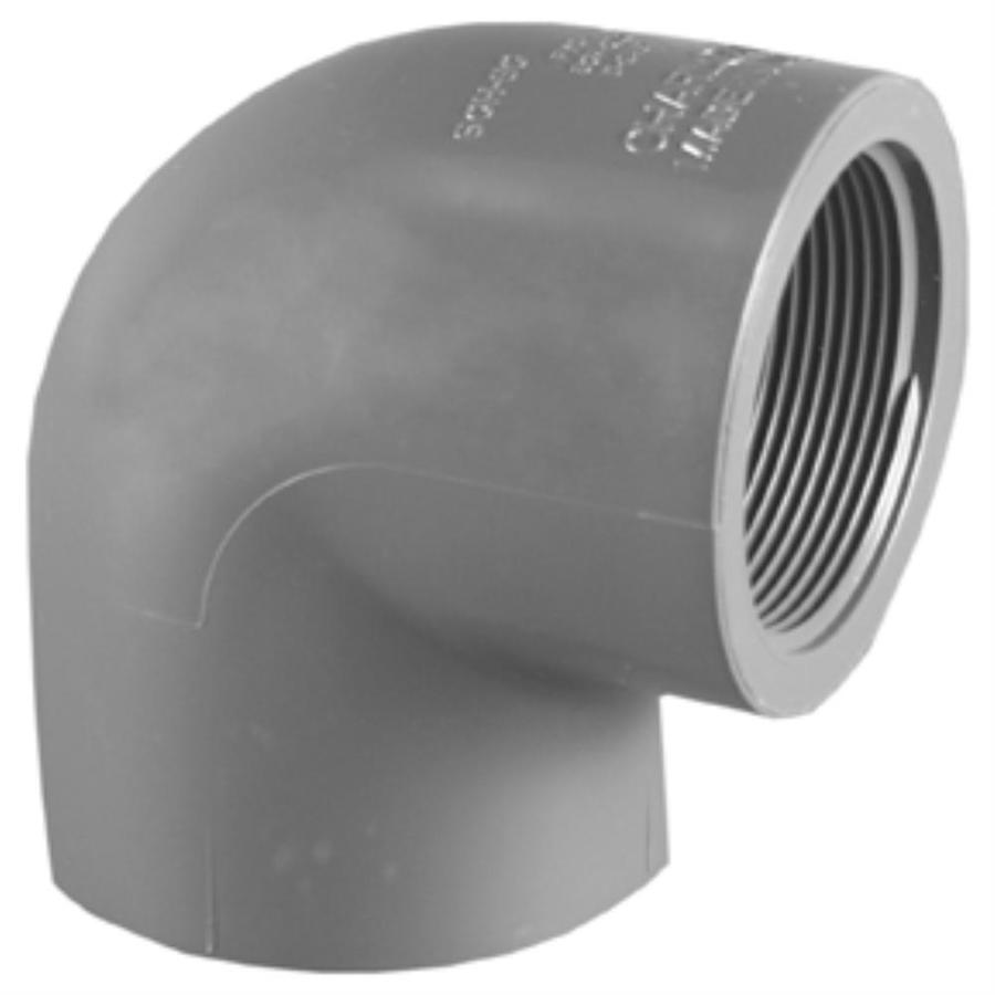 Charlotte Pipe 3/4-in Dia 90-Degree PVC Sch 80 Elbow