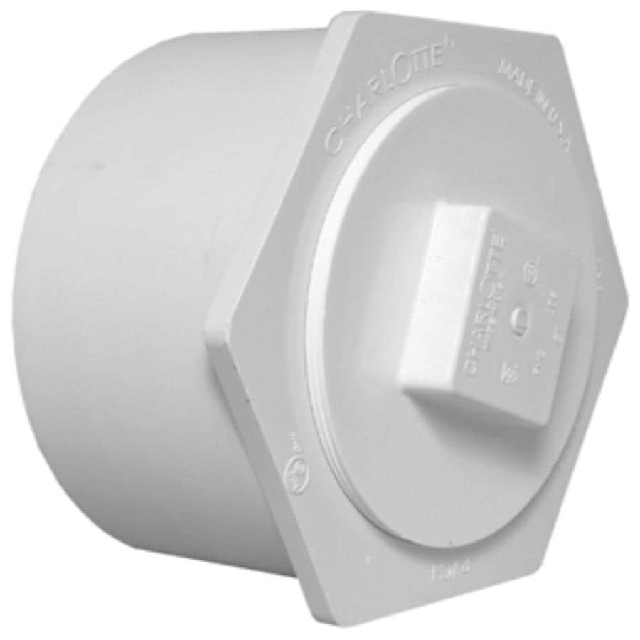 Charlotte Pipe 12-in Dia PVC Cleanout Adapter Fitting