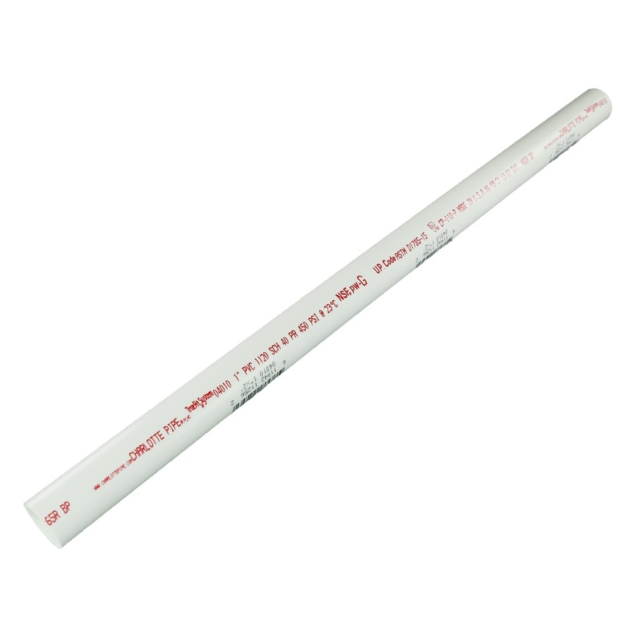 Charlotte Pipe 1-in x 2-ft 450 Schedule 40 PVC Pipe