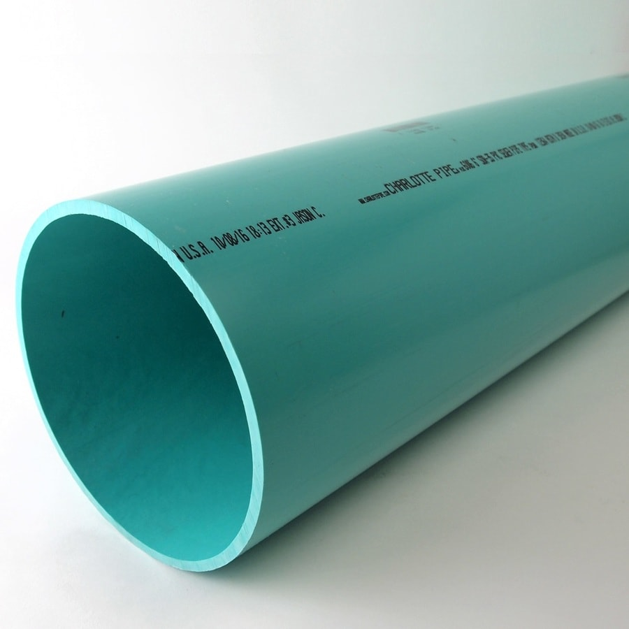 Charlotte Pipe 6 In X 2 Ft Sewer Main Pvc Pipe
