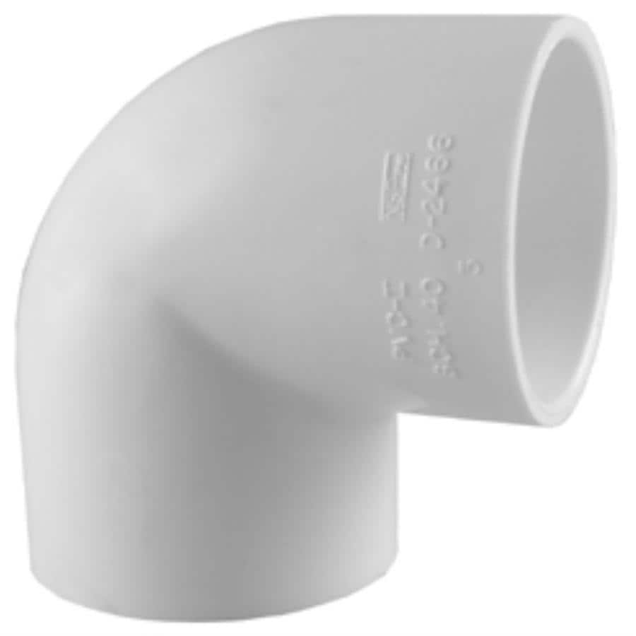 Charlotte Pipe 8-in dia 90-Degree PVC Vent Elbow Fitting