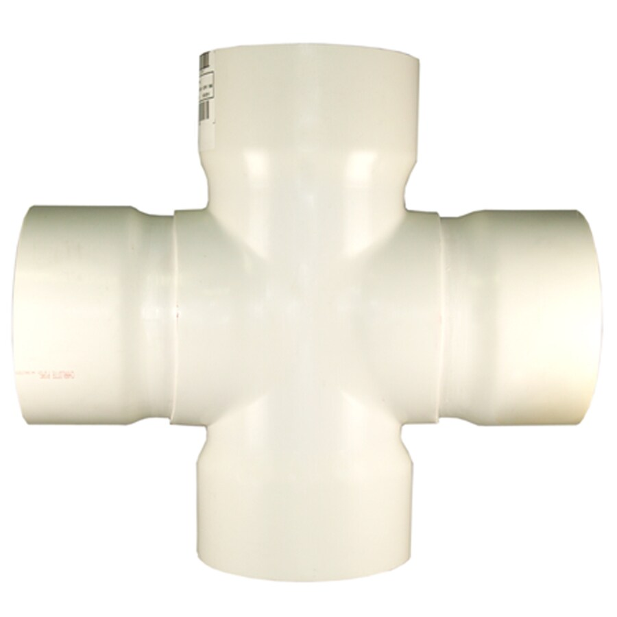 Charlotte Pipe 10-in dia PVC Cross Tee Fitting