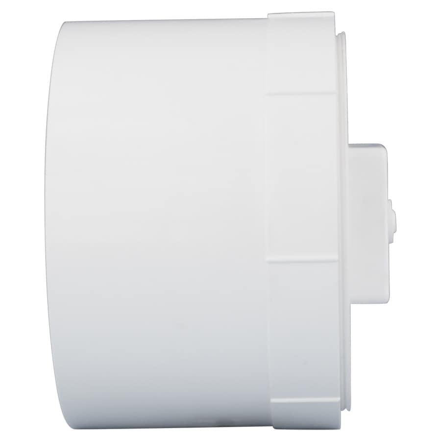 Shop charlotte pipe in dia pvc cleanout plug fitting at