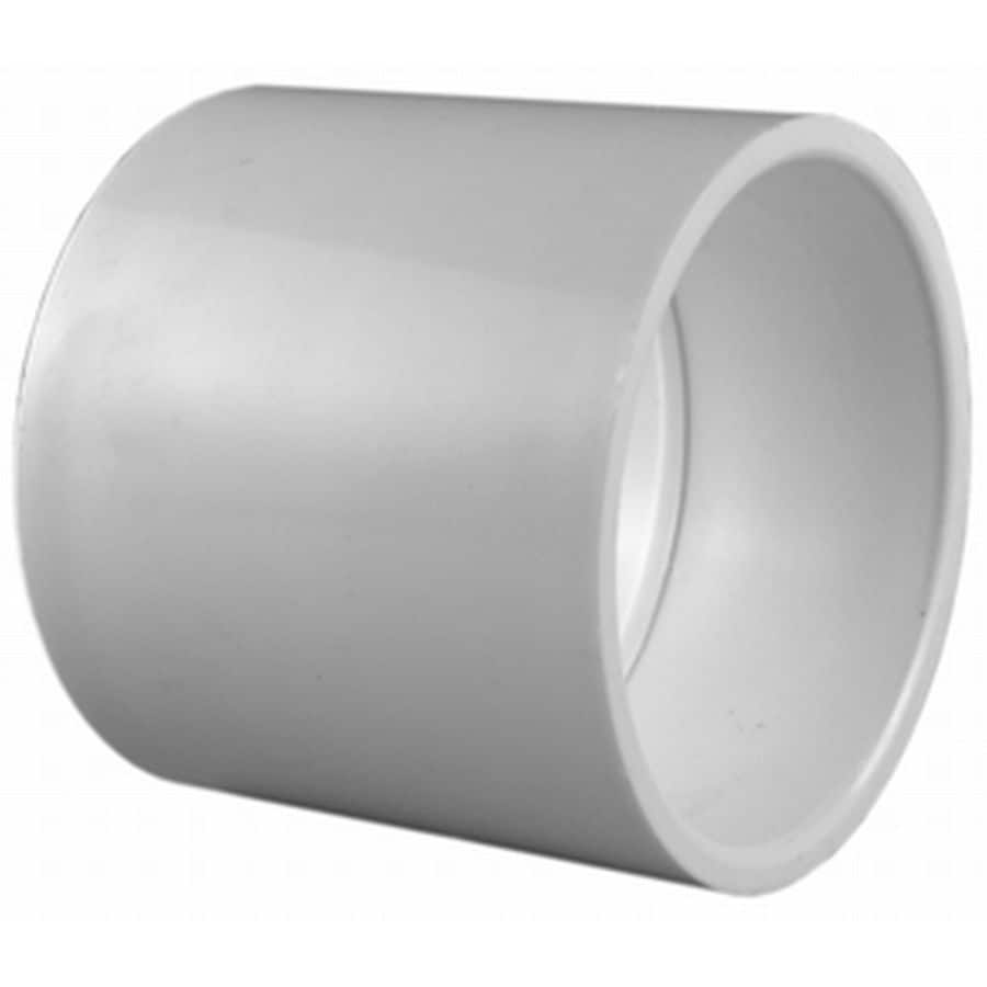 Charlotte Pipe 10-Pack 3/4-in Dia PVC Sch 40 Coupling