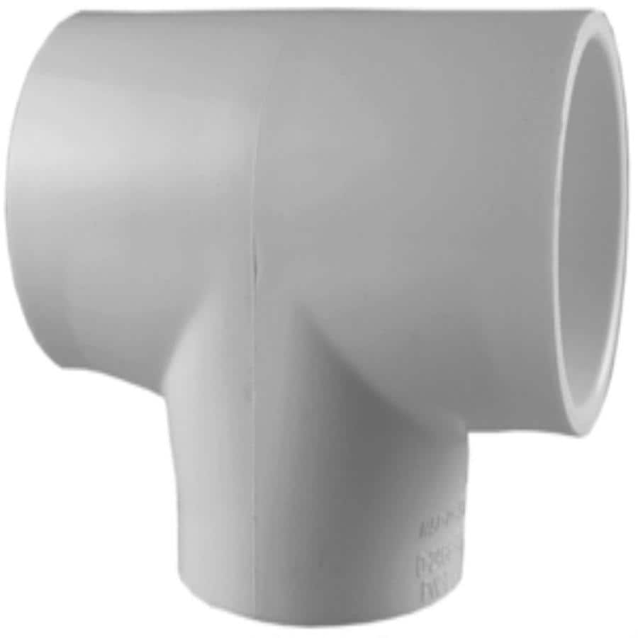charlotte pipe 10pack 34in dia pvc sch 40 tees