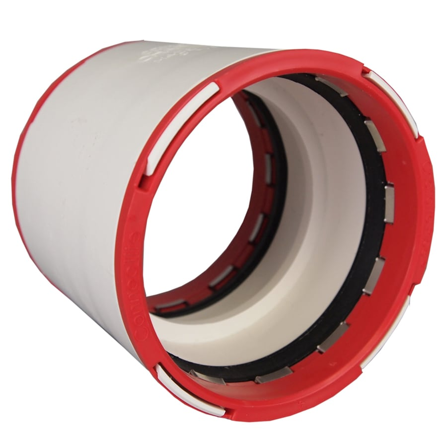 ConnecTite by Charlotte Pipe 2 dia PVC Coupling Fitting