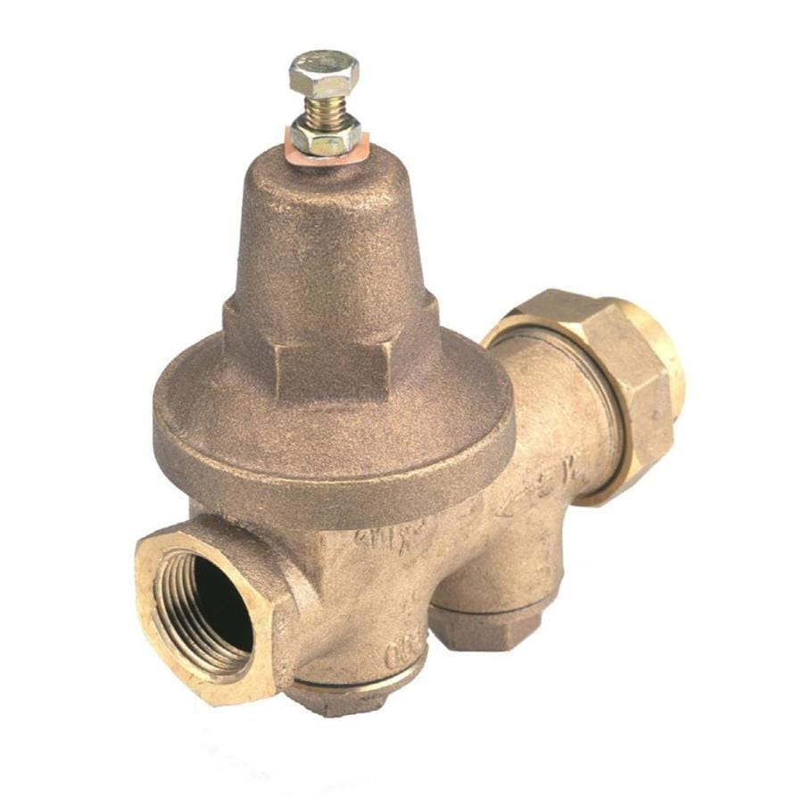 Wilkins 3/4-in Bronze Female In-Line Pressure Reducing Valve