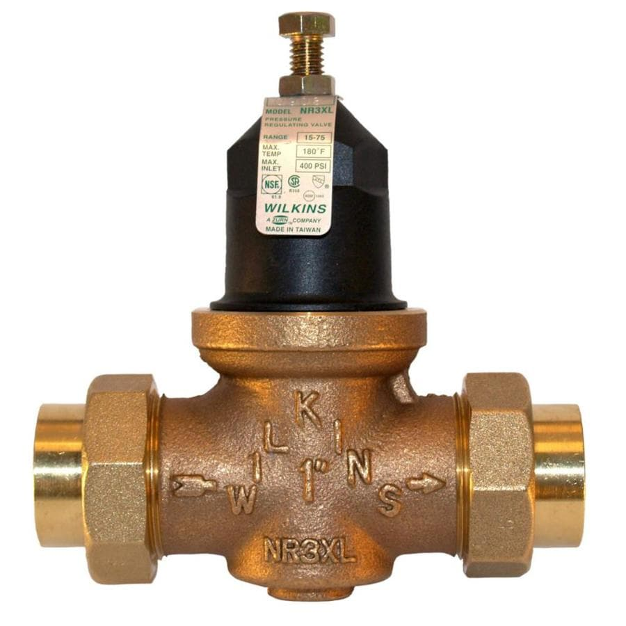 Wilkins Bronze 1-in Sweat Pressure Reducing Valve