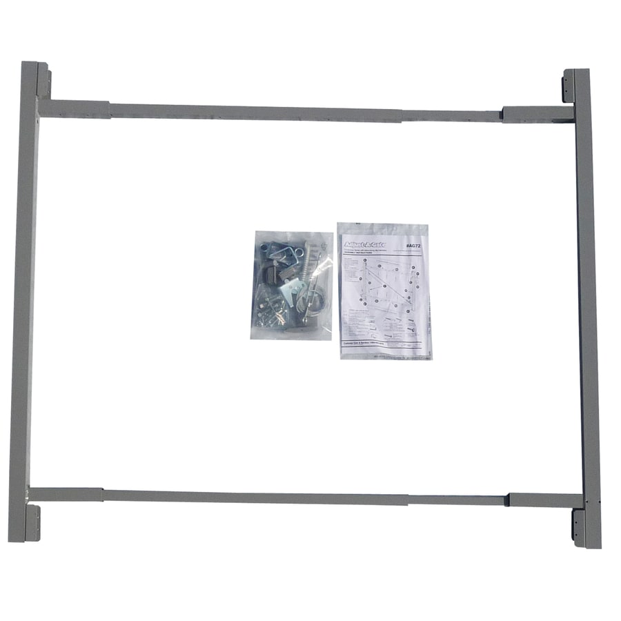 adjust a gate consumer steel painted gate frame kit