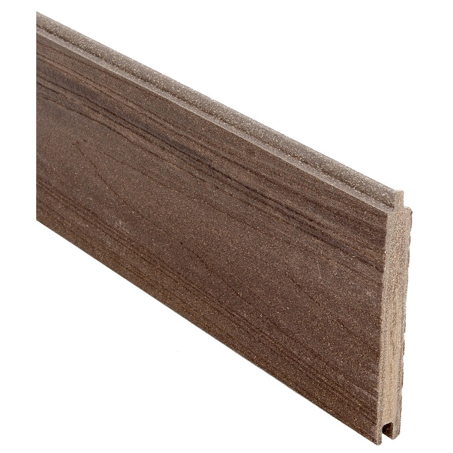 Infinity (Actual: 0.41-ft x 5.916-ft) King Cedar Privacy Composite Fence Panel