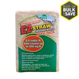 Ez Straw 2 5 Cu Ft Mulch