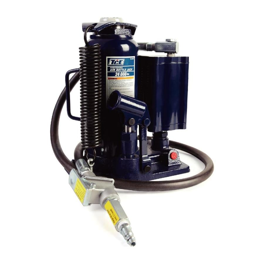 TCE Air Hydraulic Bottle Jack