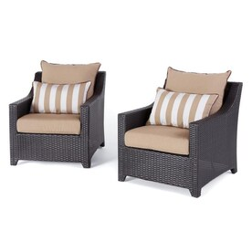 Rst Brands Deco 9 Piece Brown Frame Patio Set With Moroccan Cream Sunbrella Cushions In The Patio Dining Sets Department At Lowes Com