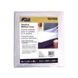 Blue Hawk Plastic Full Extra Long Mattress Cover