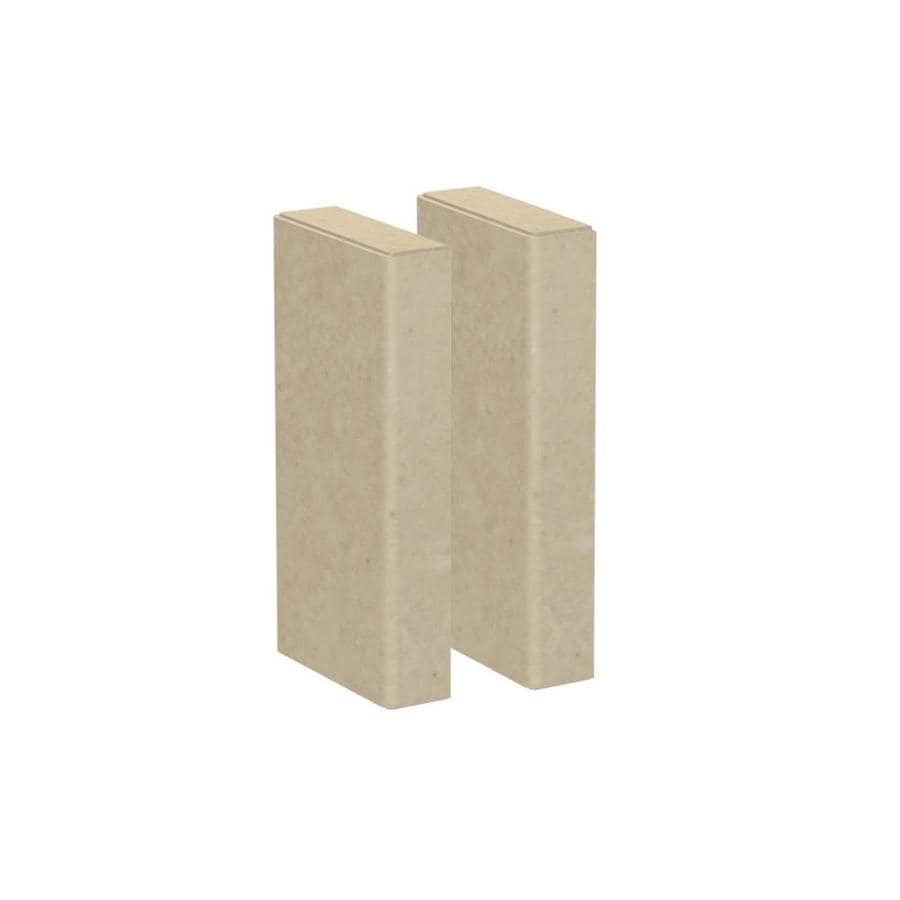 American Bath Factory Medium Sistine Stone Shower Wall Trim Kit