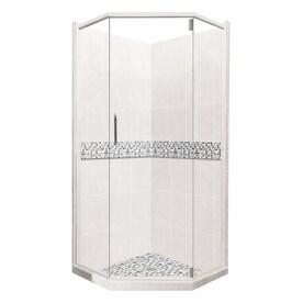 American Bath Factory Laguna Light With Accent Fibergl And Plastic Wall Stone Composite Floor Neo