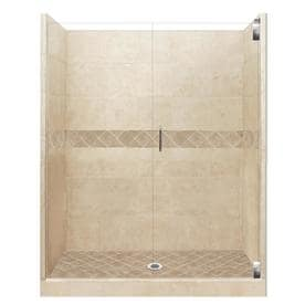American Bath Factory Flagstaff Medium With 4 X Accent 32 Piece Alcove Shower